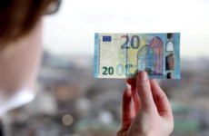 Safe and flashy: Here's what the new €20 note will look like