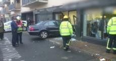 Nobody hurt as car goes through Dublin shop window