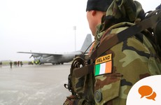 Are we willing to risk Irish lives by sending troops to Mali or Lebanon?