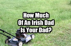 How Much Of An Irish Dad Is Your Dad?
