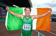 Thomas Barr is named Irish Athlete of the Year