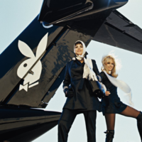 See what it was like to fly on The Big Bunny, Hugh Hefner's customised Playboy jet