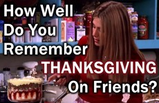 How Well Do You Remember Thanksgiving on Friends?