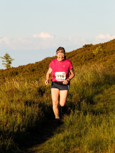 70-year-old Caitlín Bent is Ireland's oldest mountain runner - and isn't stopping anytime soon