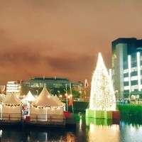 The lights have been turned on at Dublin city's Christmas Village