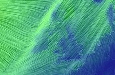 Cold winds and wintry showers are whipping in from the west
