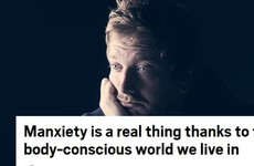Some people really aren't happy with the term 'manxiety' that's everywhere this week
