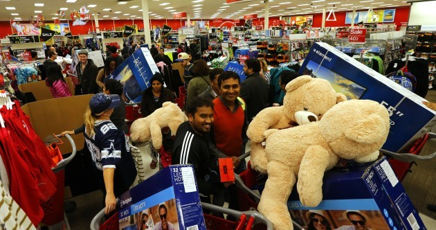 Fights, arrests and stealing from kids: Black Friday in America