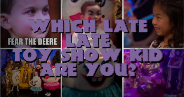 Which Late Late Toy Show Kid Are You?
