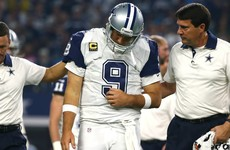 Dallas Cowboys QB Tony Romo is out for season with a fractured collarbone