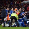 Everton fans celebrate 95th-minute 'winner' with mini invasion... then Bournemouth equalise