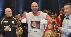 Tyson Fury is the new heavyweight champion of the world