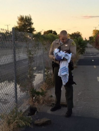 Newborn baby girl found buried alive in riverbed