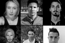 52 of the biggest sports stars come together for touching 'Je suis Paris' video