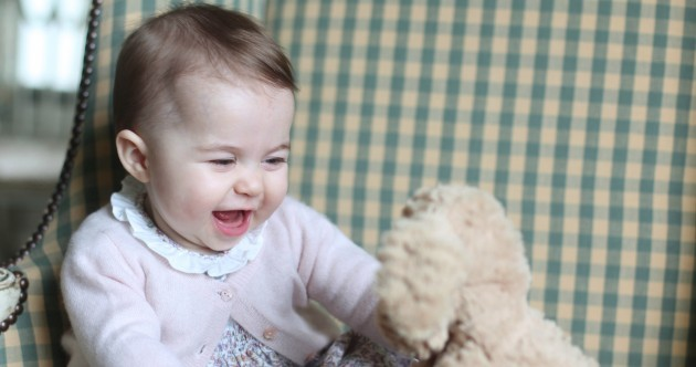 Take a break and have a look at these pics of a baby princess