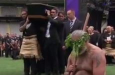 Shelford and Umaga lead emotional All Black Haka at Jonah Lomu's funeral