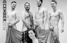 Loads of UCD students have posed in the nip for a charity calendar