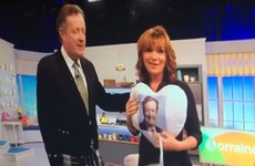 Lorraine Kelly dropped the most mortifying innuendo on live TV this morning