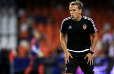Former Manchester United defender takes on bigger role with La Liga side Valencia