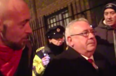 This man got more than he bargained for when he tried to question a Labour TD