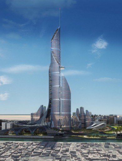 The tallest building in the world will be an Iraqi skyscraper