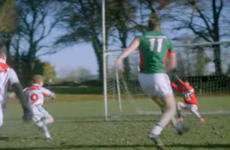 Full-grown man Aidan O'Shea absolutely DOMINATED an U10 match in this new ad
