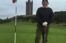 The 62-year old playing every golf course in Ireland