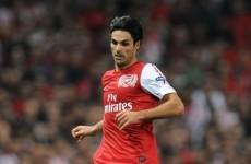 Arteta: I never had a medical before joining Arsenal