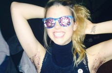 Glitter pits is the new festive underarm trend
