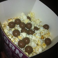 Popcorn and Maltesers is the greatest cinema snack of all
