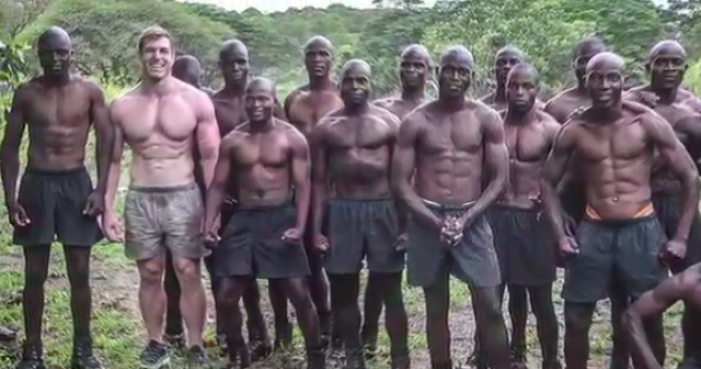 David Pocock spent his holidays training with anti-poaching scouts in Zimbabwe