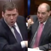 Watch TDs have a huge row about having nothing to talk about