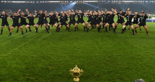 Hakas, heroes and hard yards: The international rugby year in 23 pictures