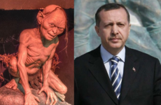 A huge legal case in Turkey hinges on whether the President looks like Gollum