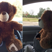 A little girl gave a police officer her teddy bear to 'keep him safe' and it's TOO cute