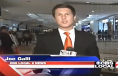 This news reporter had the best response to an idiotic heckler