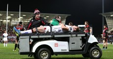 Henderson stretchered off as Ulster injuries mount during win over Edinburgh