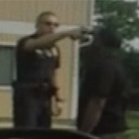 WATCH: US cop places gun in black man's mouth 'to show off to his friends'