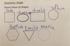 This little girl found a genius way around answering a homework question