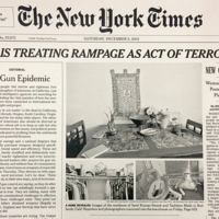 The New York Times uses front page to call for gun control