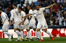 Benzema puts controversy to one side as he stars in Real rout