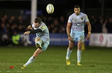 JJ Hanrahan nails late penalty as Donncha O'Callaghan sees red for Worcester