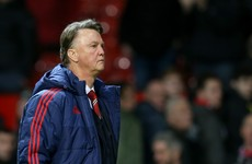 Louis van Gaal frustrated by United fans' chants of 'attack, attack, attack'