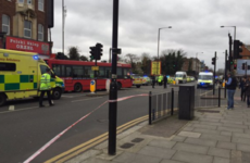 90-year-old man dies after being blown into a bus