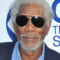 Morgan Freeman in emergency plane landing