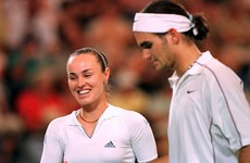 Be still our beating hearts... Hingis and Federer to form dream doubles pairing for Olympics