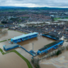 The destruction caused by Storm Desmond summed up in picture of Carlisle's Brunton Park