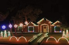 This family went above and beyond with their Christmas lights this year
