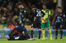 Arsenal's title challenge dented as Cazorla ruled out until March