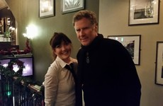 Will Ferrell had a quiet pint of Guinness in Dublin last night